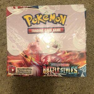 NEW Pokémon sword and shield closed box-